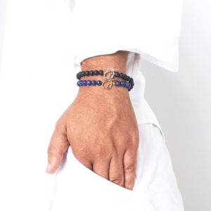 Mens Beaded Persian – Arabic Name Bracelet