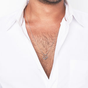 Mens Persian-Arabic Name Necklace