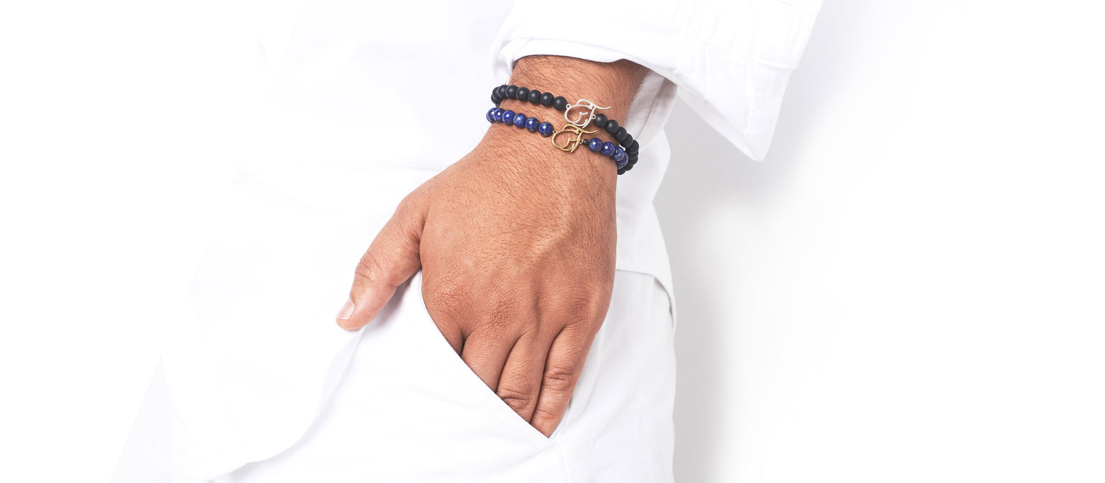 Anousha Razavi produces personalized jewelry with 3-D Technology. Noush specializes in Farsi, Persian, and Arabic names on White or Yellow Gold bracelets.