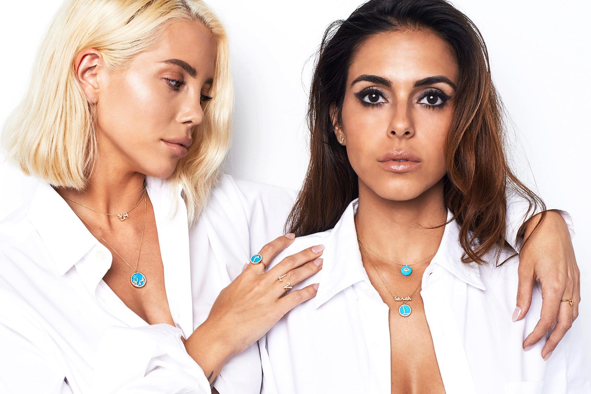 Persian Name On Jewelry