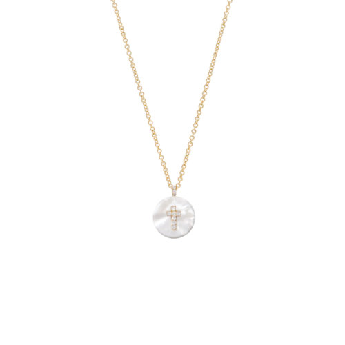 Co-exist - Cross on Gemstone