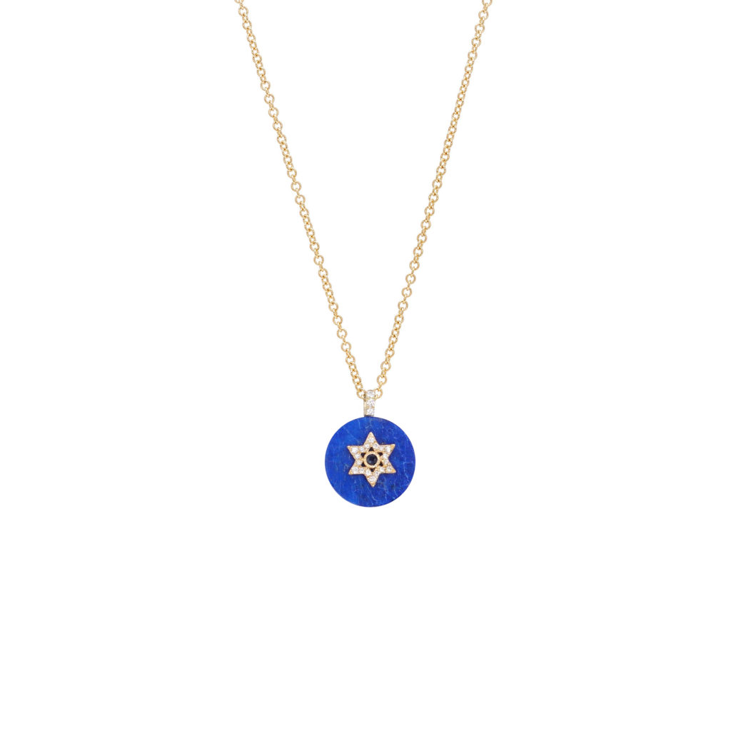 Co-exist - Star of David on Gemstone