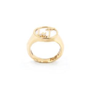 Persian – Arabic Name signet Ring
