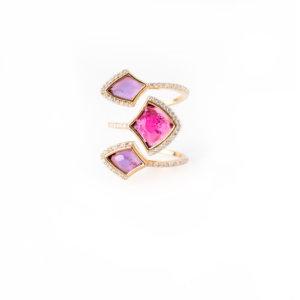 Kashan Stacked Ring