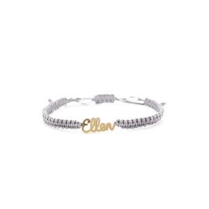 Knotted Name Bracelet