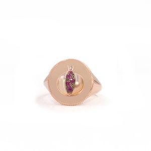 Daric signet ring, LOVE
