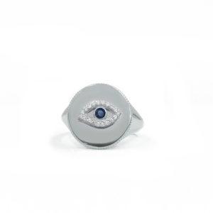 SHIVA signet ring, LUCK