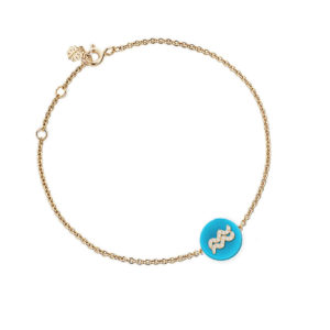 Co-exist -Aquarius Horoscope Bracelet
