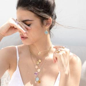 Hidden Treasure Hamsa Earrings