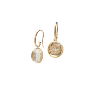 Hidden Treasure North Star Earrings