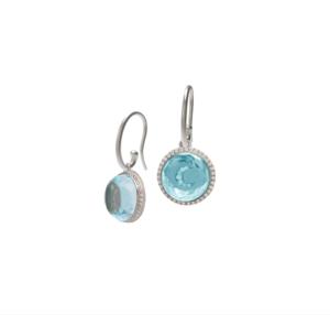 Hidden Treasure Moon Earrings