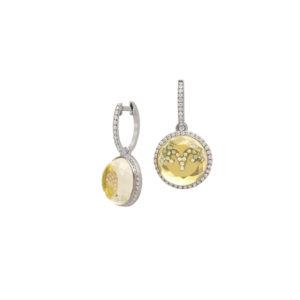Hidden Treasure Horoscope Earrings